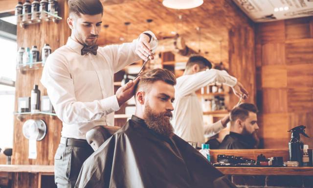 barbearias em alta
